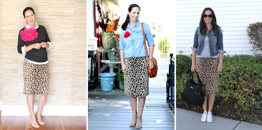 how to wear a plus size pencil skirt