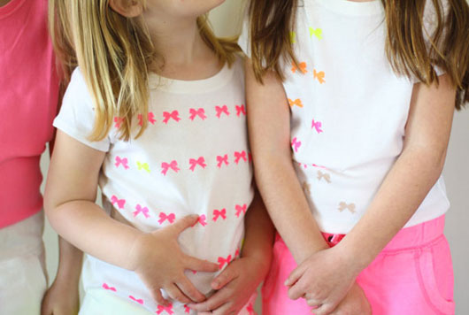 DIY-Neon-Bow-Shirts