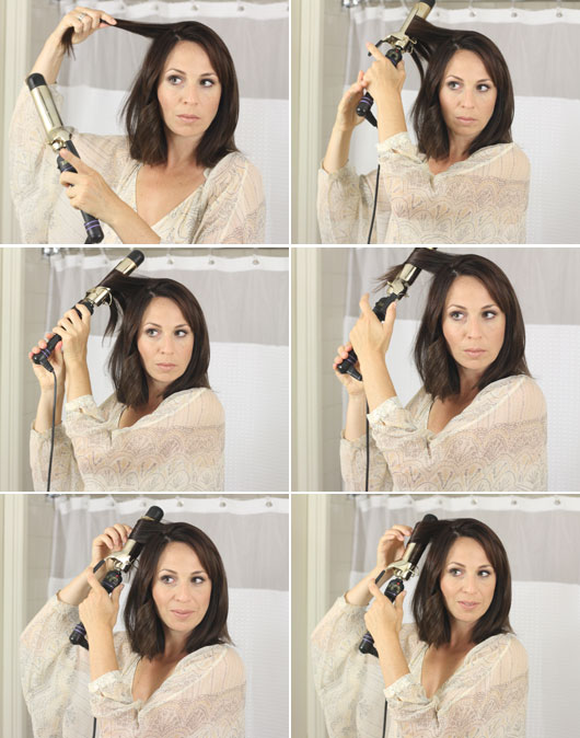 how-to-give-short-hair-wavy-curls