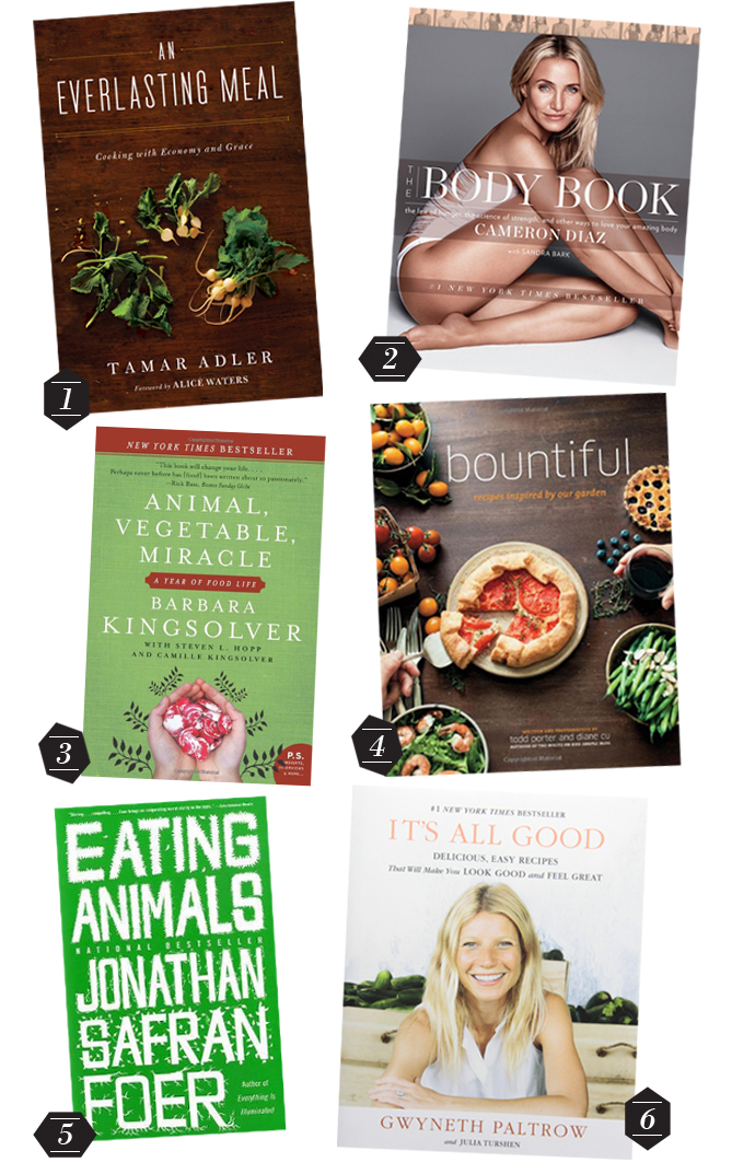 Favorite Food Books