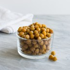 Rosemary Sea Salt Roasted Chickpeas