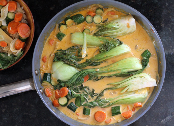 Vegan Red Curry